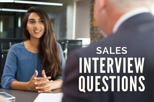 Sales Interview Questions - Woman in an Interview