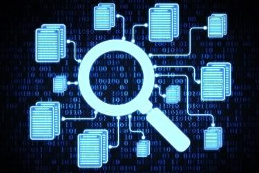Virtual files database
