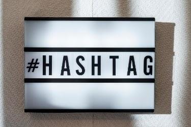 #hashtag sign