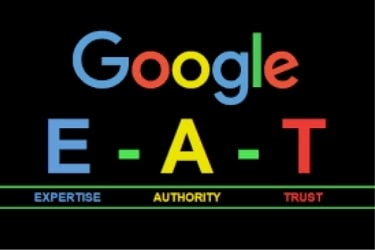 Google EAT - Expertise, Authority and Trust