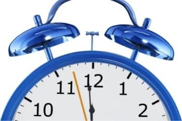 Clock closeup seconds