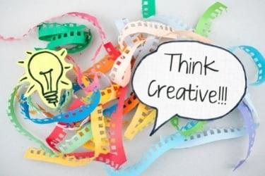 Think Creative Concept Lightbulb