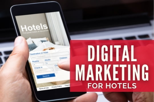 Digital Marketing for Hotels - Booking a hotel online