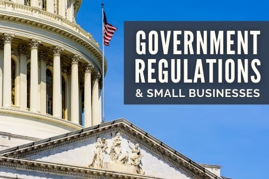 Government Regulations & Small Businesses - USA Government Building