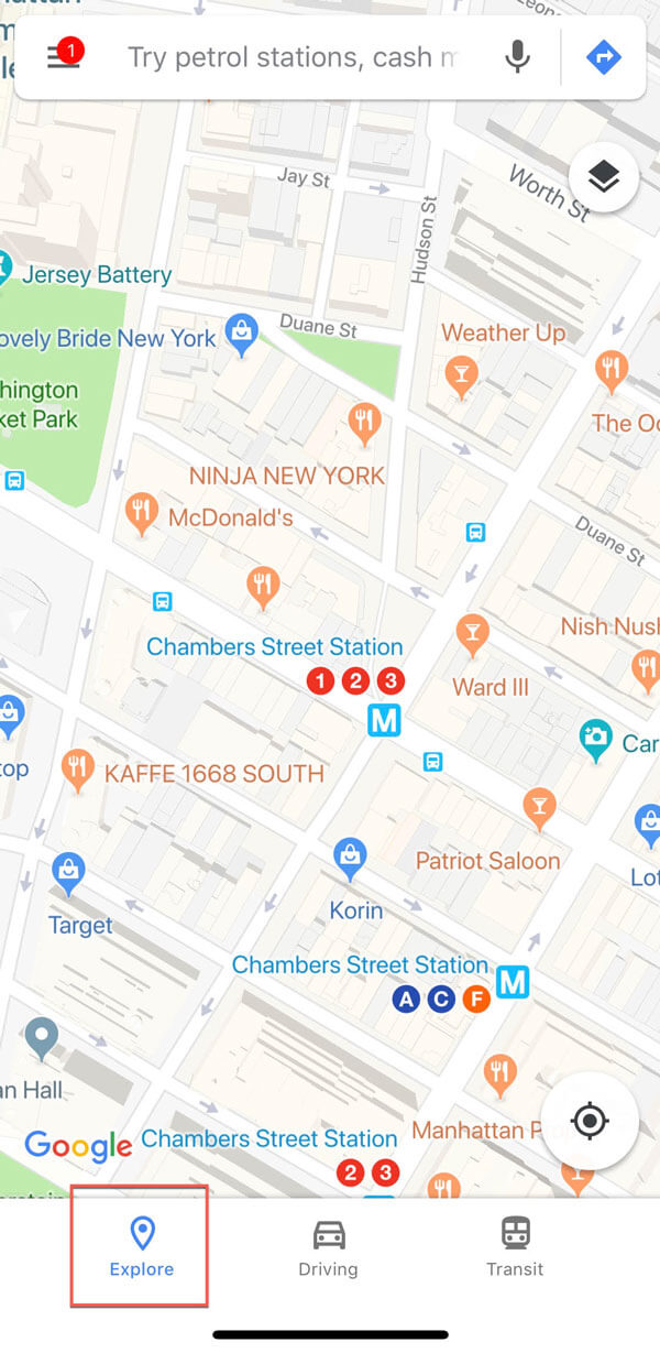 google my business for restaurants maps