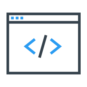 window with code icon