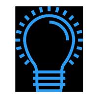 lighting bulb icon