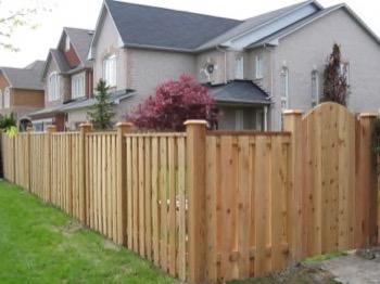 Fence in Markham