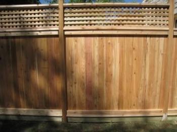 Fence in Brock