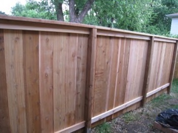 Another wooden fence
