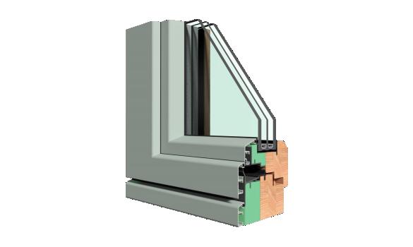 profile aluminiu ferestre lemn