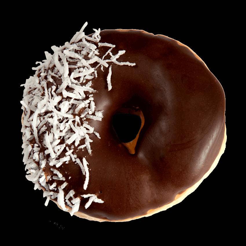 Chocolate Dip Coconut