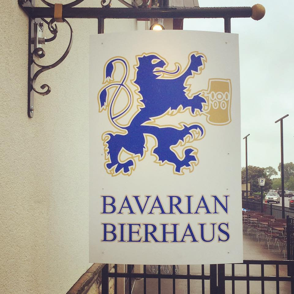 Bavarian Bierhaus Flag at outside of Opry Mills