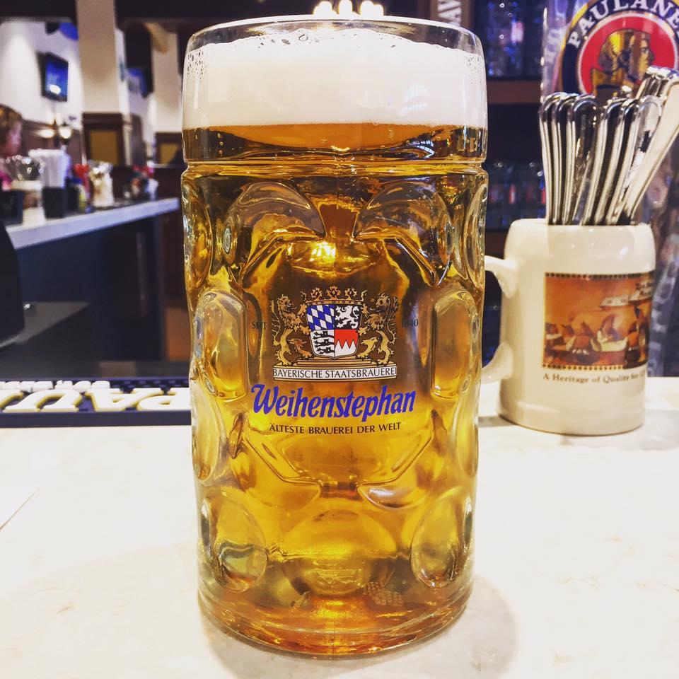 Weihenstephaner Hefeweisseier at Bavarian Bierhaus