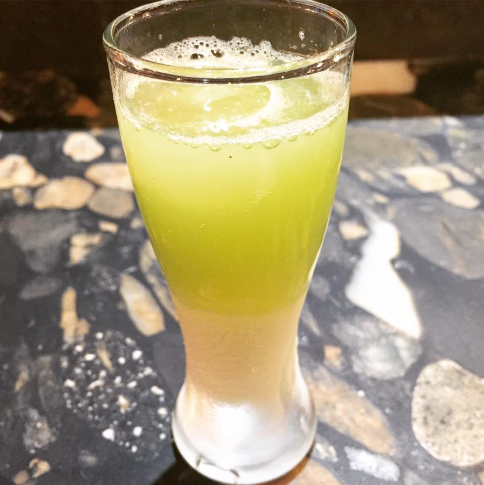 Mezzo  - Granny Smith Apple Soda / Lemon Ice