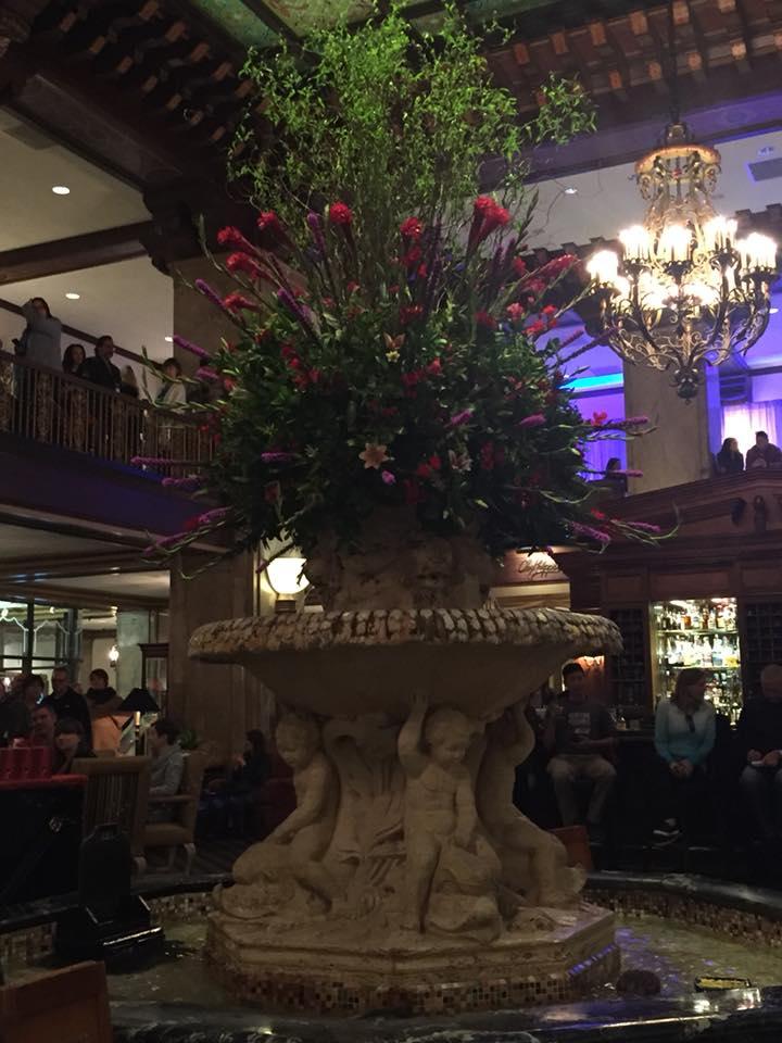 The Peabody Hotel Lobby Fountain