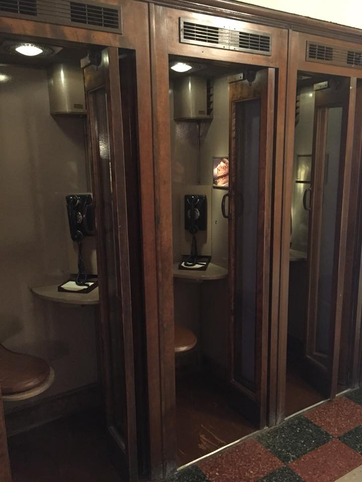 The Peabody Hotel Phone booths