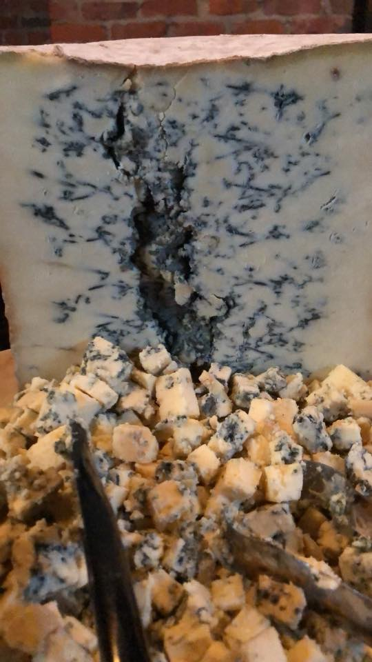 Stilton Blue Cheese from Whole Foods