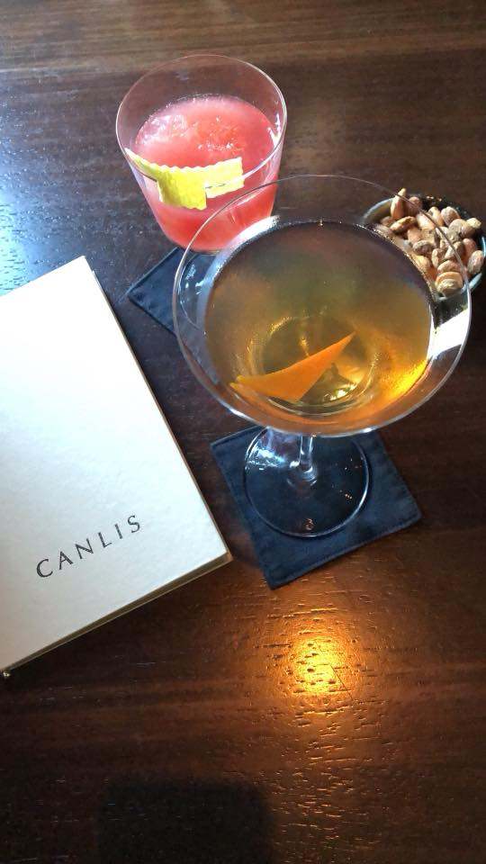Pre-dinner Cocktails at Canlis