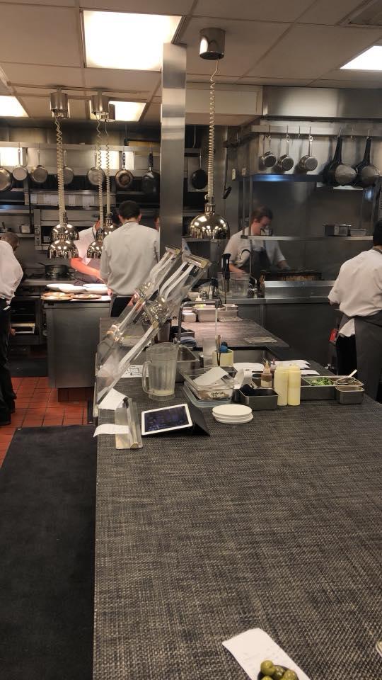 Kitchen tour at Canlis