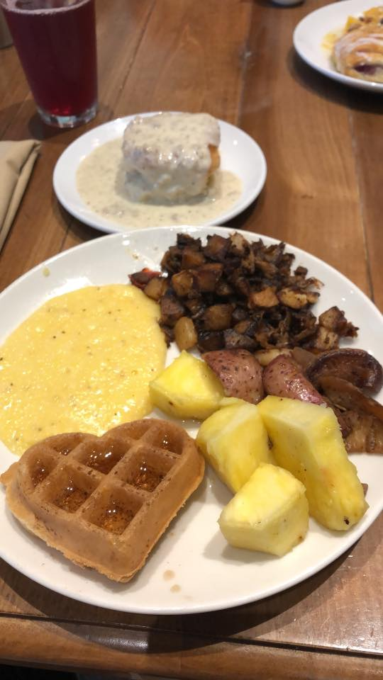 Breakfast Buffet Samplings from Dollywood's DreamMore Resort