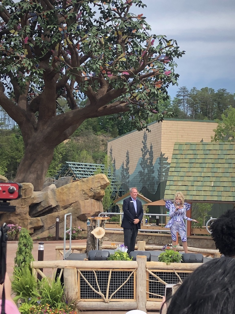 Dolly Parton opening up Wildwood Grove at Dollywood