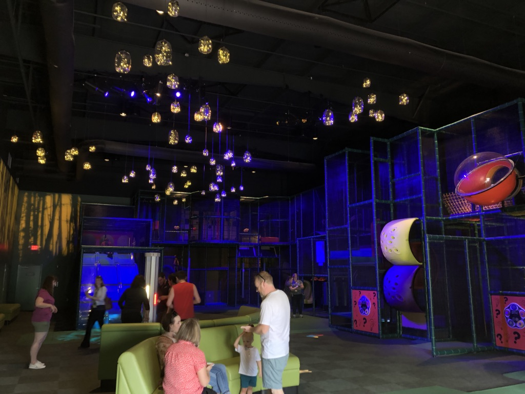 indoor play area in Wildwood Grove at Dollywood