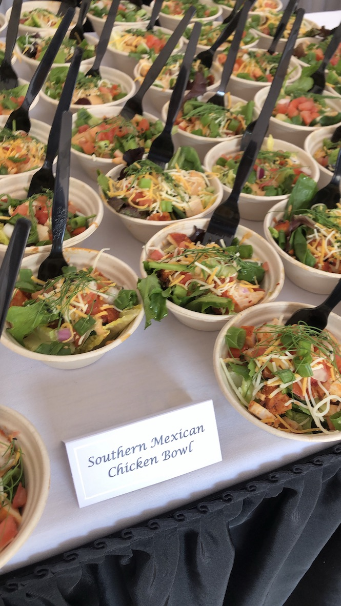 southern mexican chicken bowl at Till & Harvest in Wildwood Grove