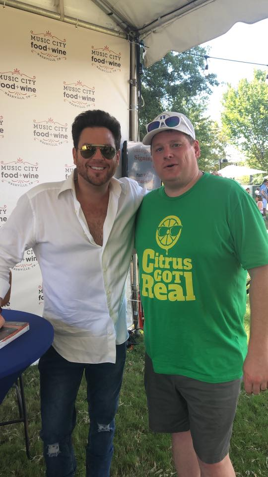 Scott Conant at Music City Food and Wine