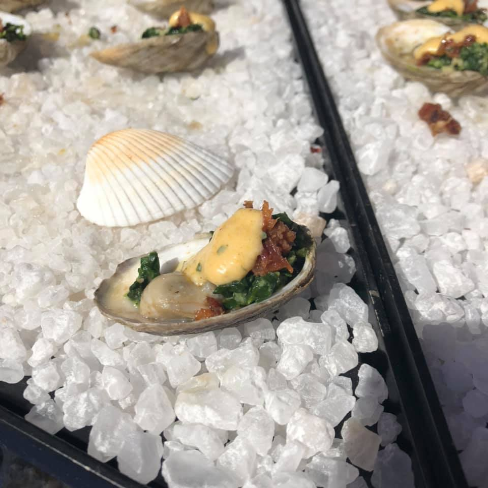great oyster presentation