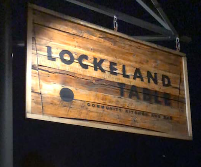 Exterior sign at Lockeland Table