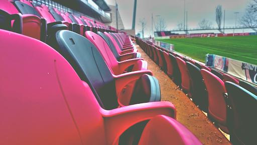 football bleacher seats