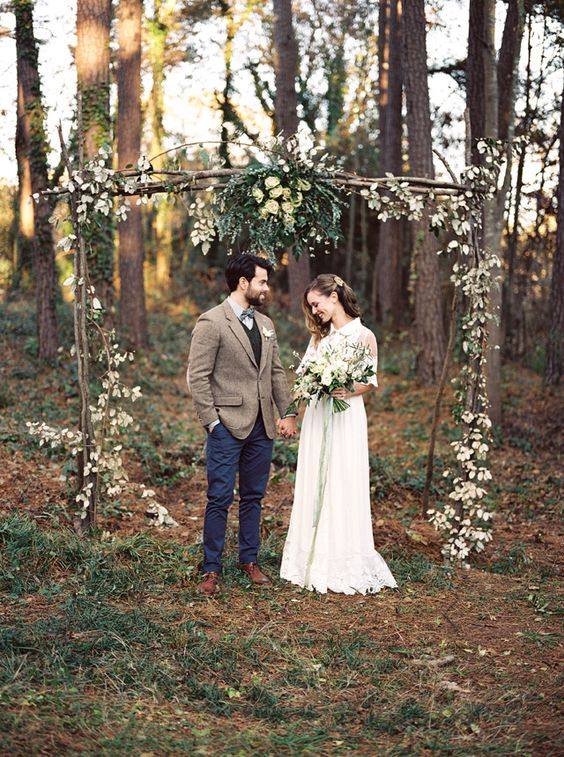 natural wedding