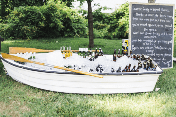 Row Boat Beverage holder