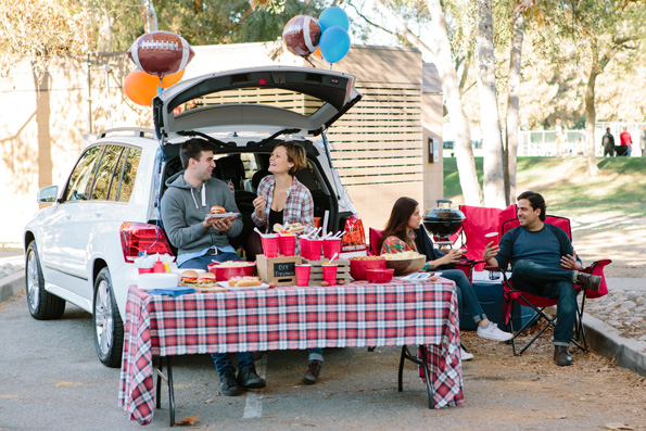 Family Tailgating