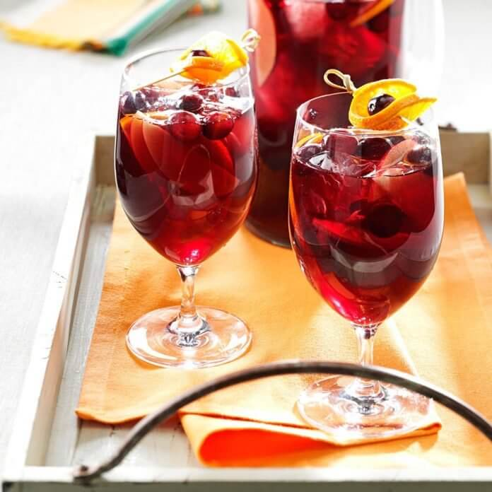 christmas party sangria