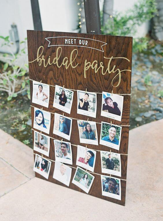 maryland engagement party bridal party game