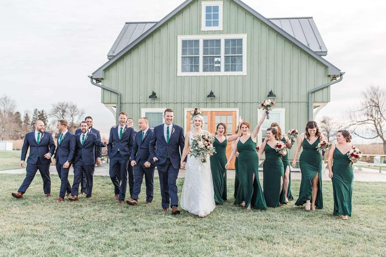 Delaware waterfront wedding