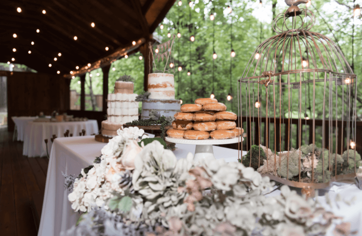 The Ultimate Backyard BBQ Wedding Reception: What's On the Table?