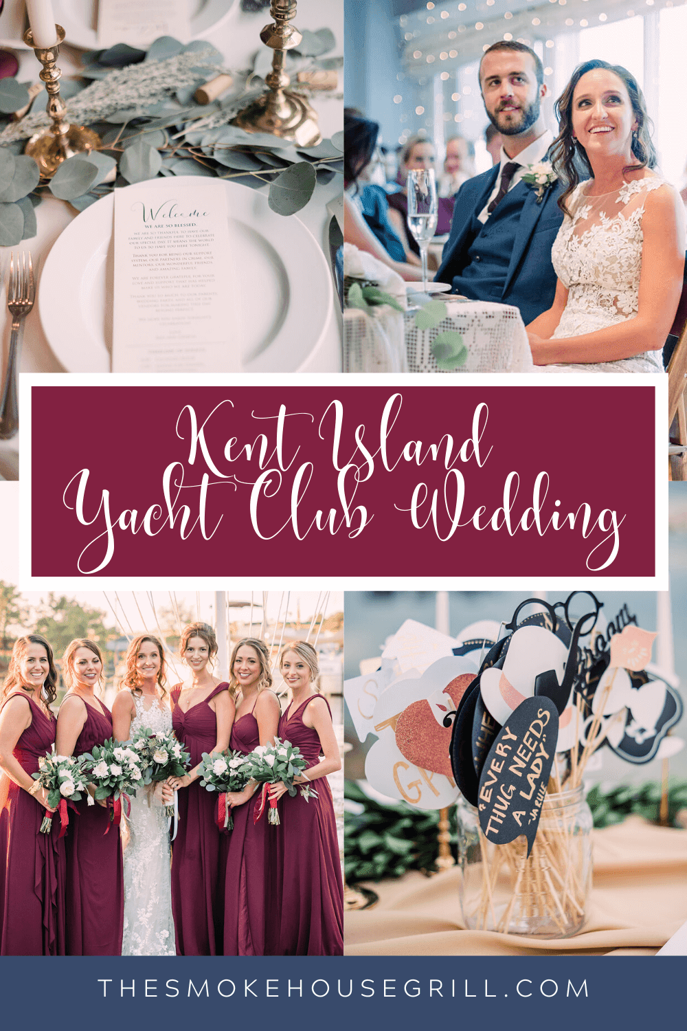 Kent Island Yacht Club Wedding