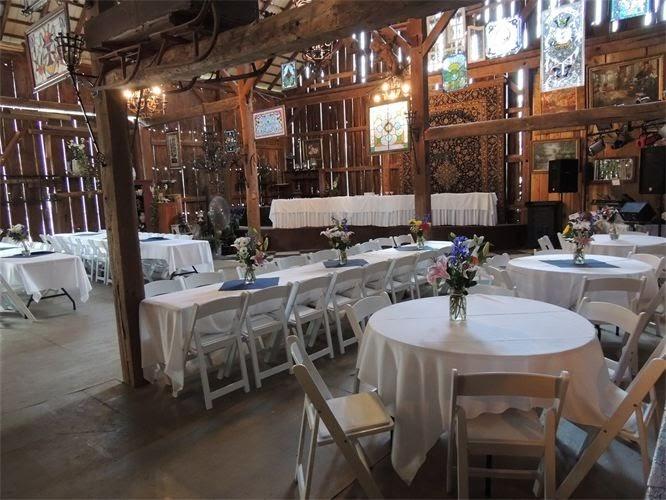 Spring Hill Manor rustic barnyard wedding venue