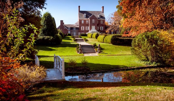 william paca house and garden in maryland