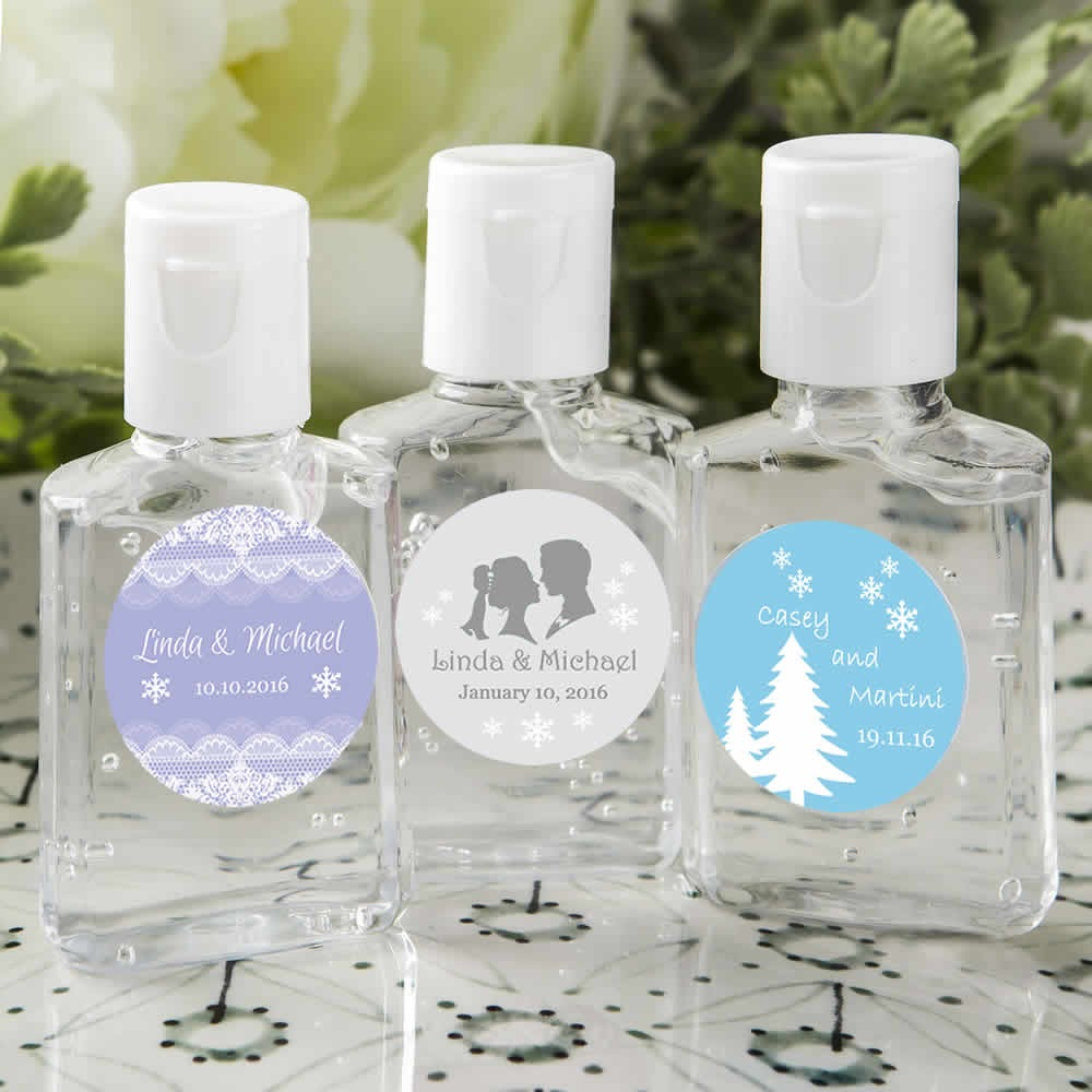 Personalized Hand Sanitizer Favors - FREE Assembly