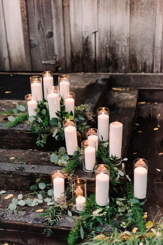 Candles lit, photo via brides.com
