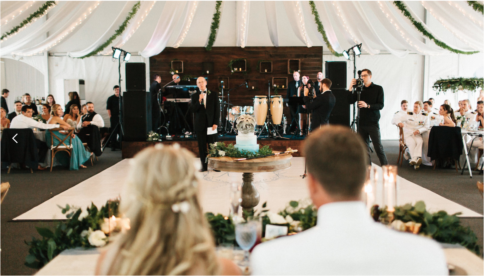 The Paradise Ballroom at the Herrington on the Bay - photo via herringtononthebay.com
