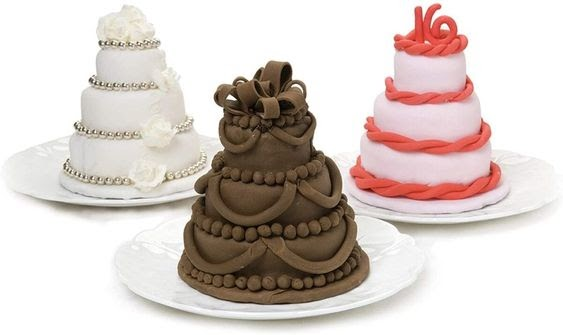 Mini Multi-Tiered Cakes. photo via totallythebomb.com