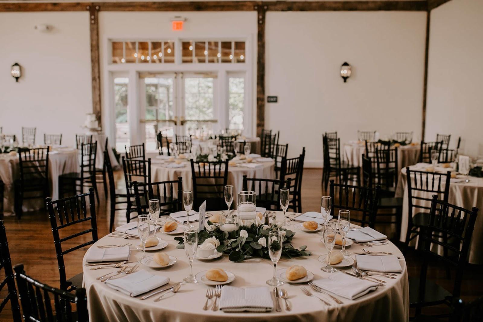 indoor wedding reception room