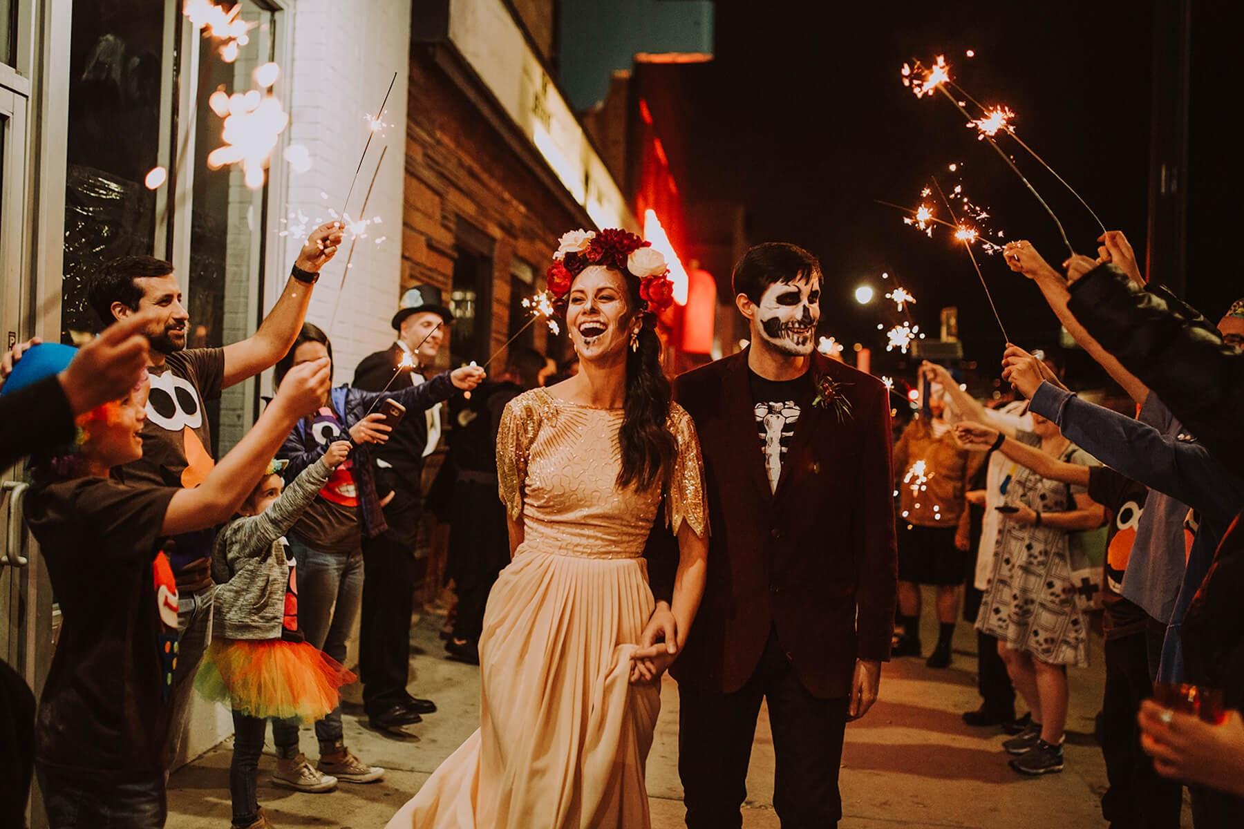 costume party wedding