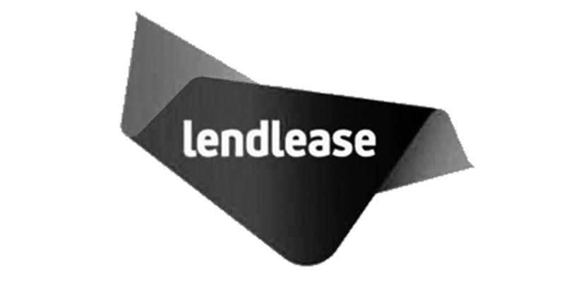greyscale Lendlease logo