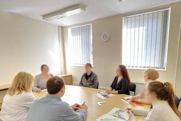 Meeting Room at Menta, Suffolk Enterprise Centre